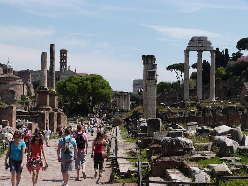 via-sacra-forum-romain