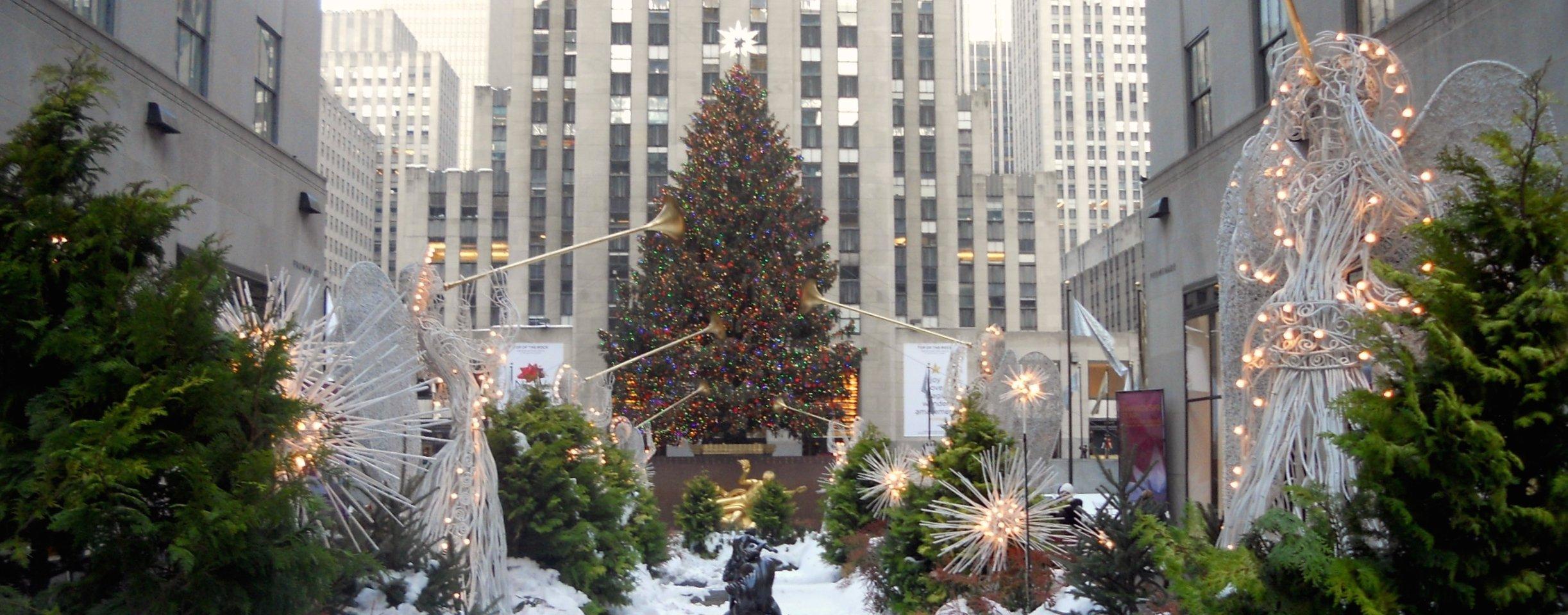 Sapin De Noel Decoration Traditionnelle new york en décembre et à noël : les meilleures activités de